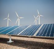 Fondo de la energía limpia Foto de archivo libre de regalías
