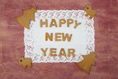Fondo de la enhorabuena del día de Año Nuevo Fotografía de archivo