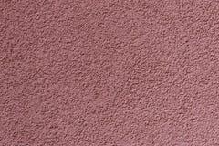 Fondo de la enyesado rosada aplicado en la pared imagen de archivo