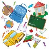 Fondo de la escuela Imagen de archivo libre de regalías
