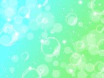 Fondo de la espuma verde Fotos de archivo