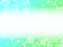Fondo de la espuma verde Imagen de archivo libre de regalías