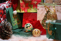 Fondo de la estación de vacaciones de invierno Imágenes de archivo libres de regalías