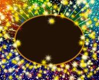 Fondo de la estrella Foto de archivo