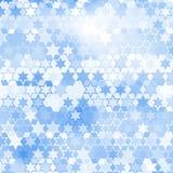 Fondo de la estrella azul Fotografía de archivo