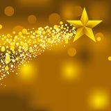 Fondo de la estrella de la Navidad Foto de archivo libre de regalías