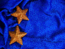 Fondo de la estrella del oro Imágenes de archivo libres de regalías