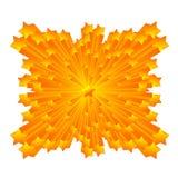 Fondo de la estrella sobre blanco Fotografía de archivo
