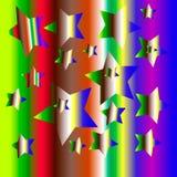 Fondo de la explosión de color Fotografía de archivo libre de regalías
