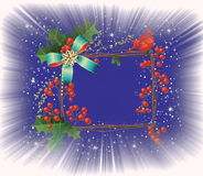Fondo de la explosión de la Navidad. ilustración del vector
