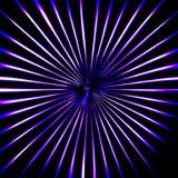 Fondo de la explosión del azul Ilustración del Vector