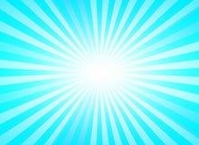 Fondo de la explosión para la presentación con color azul Fotografía de archivo libre de regalías