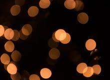 Fondo de la falta de definición de la bruja de las luces Foto de archivo
