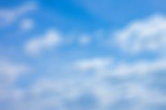 Fondo de la falta de definición del cielo Imagen de archivo libre de regalías