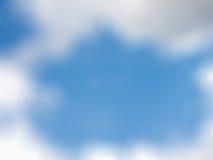 Fondo de la falta de definición del cielo Fotografía de archivo
