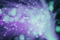 Fondo de la falta de definición (las partículas vuelan en espacio) Imagen de archivo