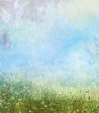 Fondo de la fantasía del tiempo de primavera Imagenes de archivo