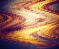 Fondo de la fantasía Las nubes del color dispersan Textura y fondo coloridos abstractos Espacio encrespado de la copia Diseño grá ilustración del vector