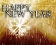 Fondo de la Feliz Año Nuevo Imagenes de archivo