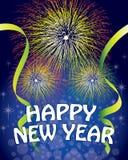 Fondo de la Feliz Año Nuevo libre illustration