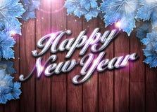Fondo de la Feliz Año Nuevo Fotografía de archivo