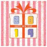 Fondo 2014 de la Feliz Año Nuevo Imagen de archivo