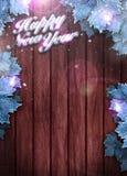 Fondo de la Feliz Año Nuevo Fotografía de archivo libre de regalías