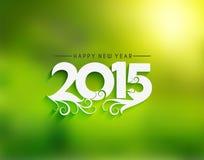 Fondo 2015 de la Feliz Año Nuevo Fotos de archivo libres de regalías