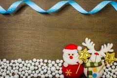 Fondo de la Feliz Año Nuevo y de la Feliz Navidad Foto de archivo