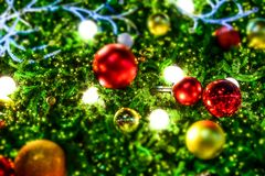 Fondo de la Feliz Navidad imagenes de archivo