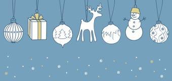 Fondo de la Feliz Navidad Foto de archivo libre de regalías