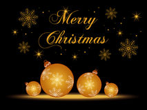 Fondo de la Feliz Navidad Fotografía de archivo