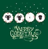 Fondo de la Feliz Navidad Imágenes de archivo libres de regalías