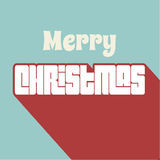 Fondo de la Feliz Navidad Foto de archivo