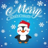 Fondo 2019 de la Feliz Navidad - imagen ilustración del vector
