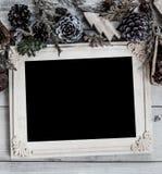 Fondo de la Feliz Navidad y de la Feliz Año Nuevo Fotografía de archivo libre de regalías