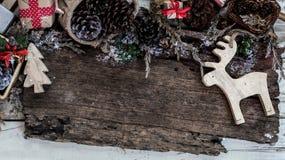 Fondo de la Feliz Navidad y de la Feliz Año Nuevo Fotos de archivo libres de regalías