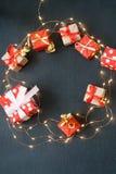 Fondo de la Feliz Navidad y de la Feliz Año Nuevo imágenes de archivo libres de regalías