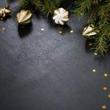 Fondo de la Feliz Navidad y de la Feliz Año Nuevo imagen de archivo