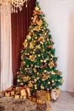 Fondo de la Feliz Navidad y del Año Nuevo Imagen de archivo