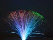 Fondo de la fibra óptica Imagen de archivo libre de regalías