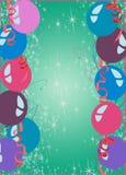Fondo de la fiesta de la Feliz Año Nuevo o de cumpleaños Fotografía de archivo libre de regalías