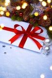 Fondo de la fiesta de Navidad Fotografía de archivo libre de regalías