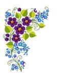 Fondo de la flor libre illustration
