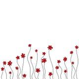 Fondo de la flor. stock de ilustración