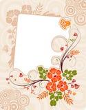 Fondo de la flor Imagenes de archivo