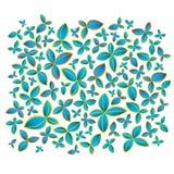 Fondo de la flor del color ilustración del vector