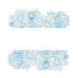 Fondo de la flor del vector. Imagen de archivo