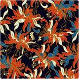 Fondo de la flor del vector Fotos de archivo