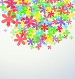 Fondo de la flor del verano ilustración del vector
